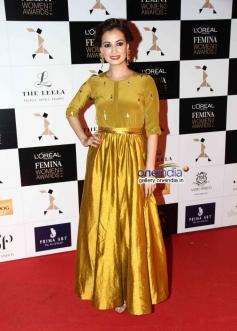 Dia Mirza at L'Oreal Paris Femina Women Awards 2014