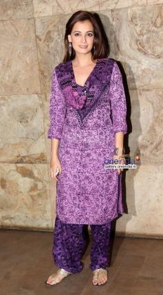 Dia Mirza at Queen film screening