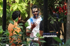Dino Morea at Sanjay Gupta's Holi celebration