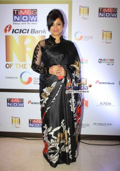 Divya Dutta at the first edition of Times Now ICICI bank NRI of the year awards ceremony