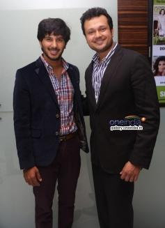 Dulquar Salman at Vaayai Moodi Pesavum audio launch