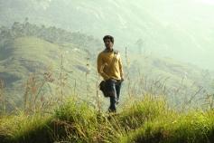 Dulquer Salman still from Vaayai Moodi Pesavum