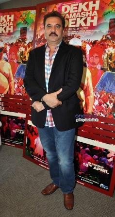 Feroz Khan during a press conference on his film Dekh Tamasha Dekh