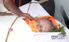 Funeral of Actress Nanda