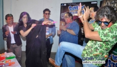 GOG film starcast celebrates Holi at Mehboob Studio