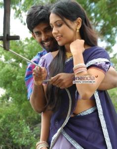 Guru and Sanjana Prakash in Kannada Movie Panganama