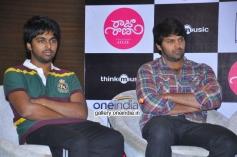 GV Prakash Kumar and Arya at Raja Rani Movie Success Meet