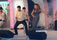 Hard Kaur dances with Jackky Bhagnani at Lavasa Women's Drive 2014