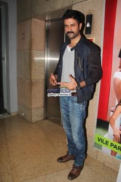 Harman Baweja at Dishkiyaoon film screening