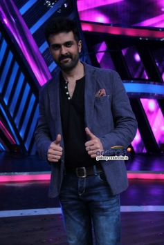 Harman Baweja on the sets of Boogie Woogie