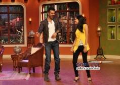 Harman Baweja promote Dishkiyaoon on the sets of Comedy Nights with Kapil