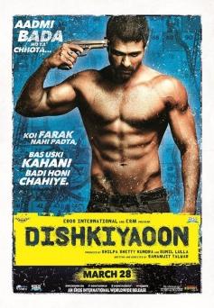 Harman Baweja's Dishkiyaoon poster