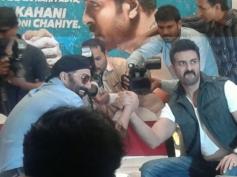 Harman Baweja and Sunny Deol promote Dishkiyaoon in Mumbai
