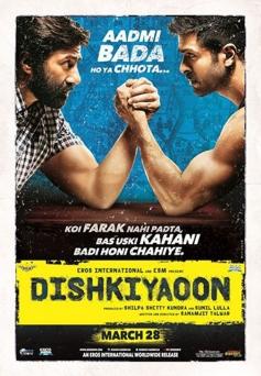 Harman Baweja and Sunny Deol's Dishkiyaoon poster