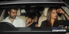 Harman Baweja with girlfriend Bipasha Basu snapped at Yauatcha restaurant