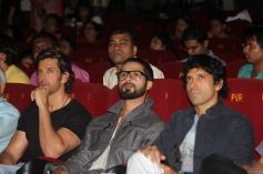Hrithik Roshan, Shahid Kapoor and Farhan Akhtar at IIFA 2014 Press Conference