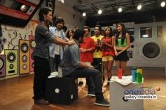 Jackky Bhagnani visits on the sets of Dil Dosti Dance