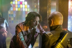 James McAvoy and Patrick Stewart still from X Men Days of Future Past