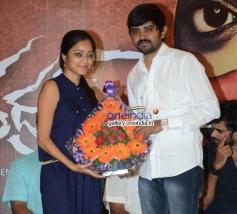 Janani Iyer at Bhadram Movie Press Meet