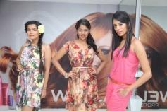 Models at launch of Essensuals Salon