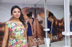 Models at Essensuals Salon launch