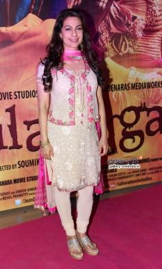 Juhi Chawla at Gulaab Gang film screening