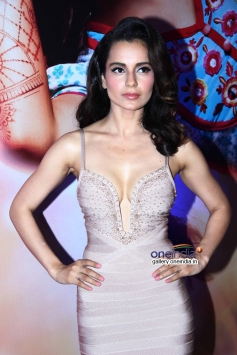 Kangna Ranaut during her film Queen success bash