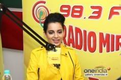 Kangna Ranaut promote Queen at Radio Mirchi Mumbai