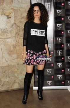 Kangna Ranaut at Queen film screening