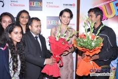 Kangna Ranaut visits Wave Cinemas in New Delhi