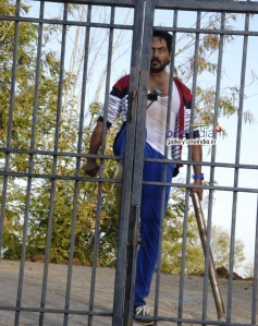 Karthik Jayaram in Kannada Movie Just Love