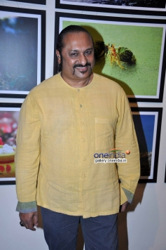 Lesle Lewis during the inauguration of photography exhibition
