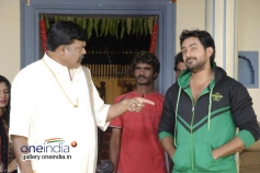 Lohithaswa, Karthik Jayaram in Kannada Movie Just Love
