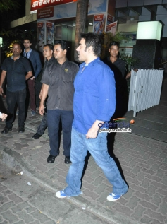 Arbaaz Khan snapped at Hakkasan Mumbai