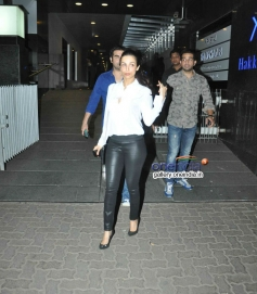 Malaika Arora with husband Arbaaz Khan snapped at Hakkasan Mumbai