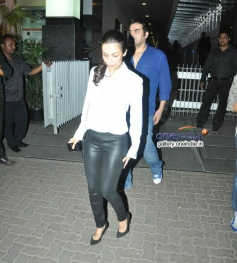 Malaika Arora and Arbaaz Khan snapped at Hakkasan Mumbai