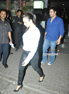 Malaika Arora with Arbaaz Khan snapped at Hakkasan Mumbai