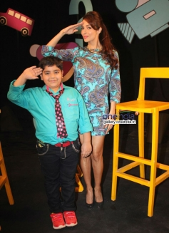 Malaika Arora Khan on the sets Disneys Chat show Captain Tiao