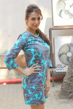Malaika Arora Khan on the sets of Captain Tiao