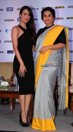 Malaika Arora Khan and Vidya Balan at the press conference of Indian Film Festival of Melbourne