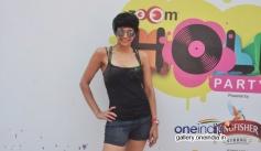 Mandira Bedi at Zoom Holi Party 2014