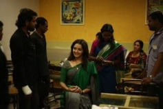 Manju Warrier on the sets of How Old Are You