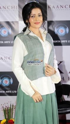 Mishti at her film Kaanchi trailer launch