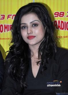 Mishti at Kaanchi film promotion on Radio Mirchi