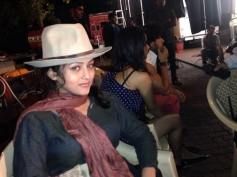 Mishti on the sets of Kaanchi