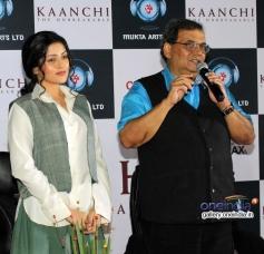 Mishti and Subhash Ghai at trailer launch of film Kaanchi