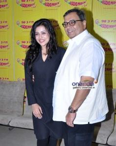 Mishti and Subhash Ghai promote Kaanchi film at Radio Mirchi