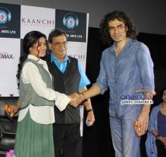 Mishti with Imitiaz Ali at trailer launch of film Kaanchi