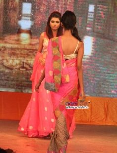 Models Walk on the Ramp at Abhinetri Movie Musical Night