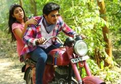 Nazriya Nazim and Dulquer Salman in Samsaaram Aarogyathinu Haanikaram